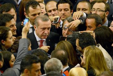 Erdogan discusses party's progress on choice of nominee and also sends warning over Twitter