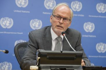 We are expanding our presence on the ground, UN's Nicholas Kay
