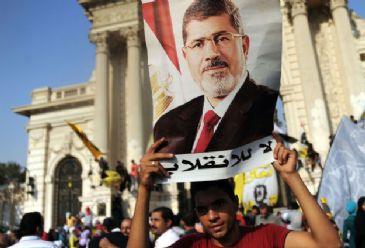 Supporters of ousted president Mohamed Morsi staged limited protests early Friday against Egypt's deteriorating economic conditions
