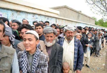Former FM Abdullah Abdullah tops first results of Afghan election, with second round likely