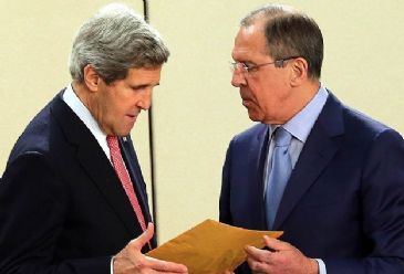 In a telephone call with his Russian counterpart, Kerry says U.S. concerned by Russia's support for separatists and its inflammatory rhetoric