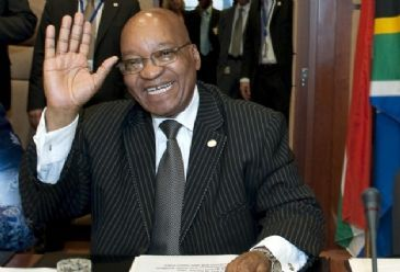 President Zuma told the crowd that South Africa has become a better place to live in 20 years after democracy