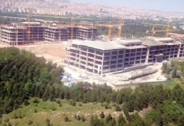 Turkish environmental engineers body challenges the building of a prime ministry complex in an Ankara forest