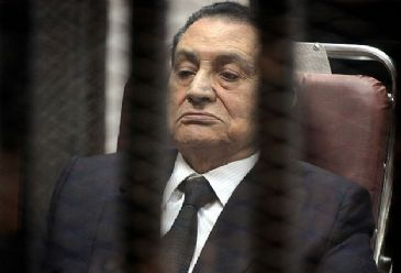 The defendants are accused of inciting the murder of hundreds of anti-regime protesters during the uprising, which ended Mubarak's 30-year rule.