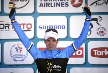 Estonian cyclist wins third lap in 50th Presidential Cycling Tour of Turkey