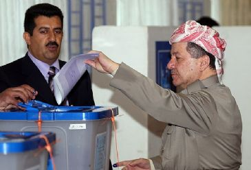 Polls opened Wednesday in Iraq amid security concerns in the first parliamentary elections since the withdrawal of U.S. troops three years ago.