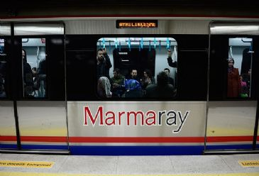 Marmaray has transported 21.5 million passengers since opening