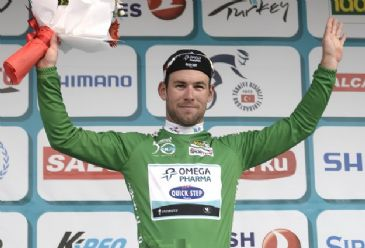 British cyclist Mark Cavendish scoops the fourth stage in 50th Presidential Cycling Tour of Turkey