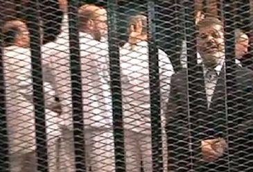 An Egyptian court on Saturday adjourned until Sunday the trial of ousted president Mohamed Morsi and 14 others charged with inciting the murder of demonstrators