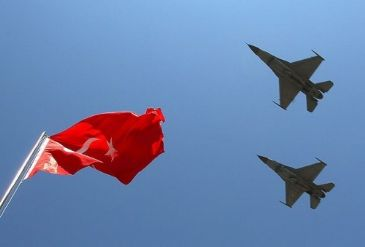 Turkish military says its fighter jets were