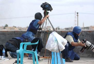 Syria one of the most dangerous places in the world for journalists according to Syrian Network for Human Rights and Reporters Without Borders