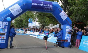 Around 14,000 runners are participating in the 10th Geneva Marathon in aid of the UN children's fund.