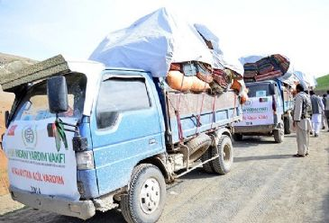 IHH Humanitarian Relief Foundation has sent aid to 350 families in the landslide-hit Badakhshan province of Afghanistan