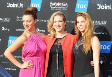 Official guests and the 37 conterstants in 2014's Eurovision Song contest have attented the opening ceremony in Copenhagan