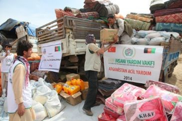 Turkey's IHH Humanitarian Relief Foundation continue to send aid packages to disaster-hit Badakhshan