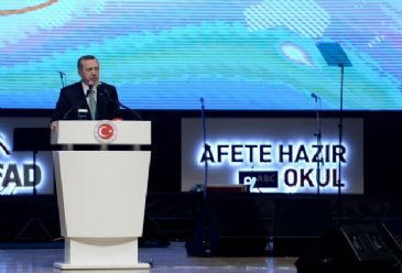 Turkey's Prime Minister stresses the importance of raising awareness about natural disasters in order to minimize their impact