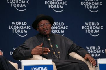 Nigerian President Goodluck Jonathan has thanked world leaders and the international community for the large turnout at the World Economic Forum on Africa