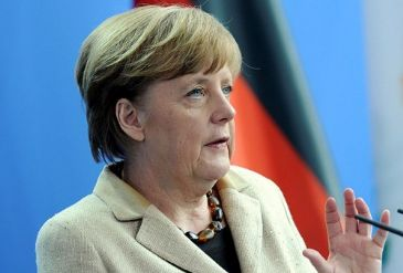 "German Chancellor Angela Merkel has hailed as ""vital"" the approaching presidential election in Ukraine, urging for a diplomatic solution to the crisis."