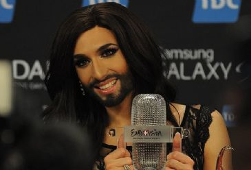 Austrian drag act wins this year's Eurovision Song Contest, which saw 26 countries represented in the final.