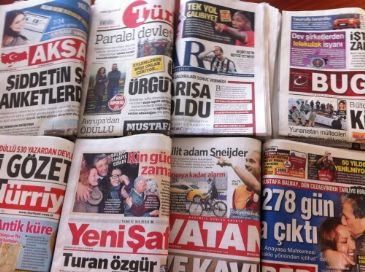 Turkish dailies on Monday dedicated their front pages mostly to news about Turkish Prime Minister Erdogan's speech on presidential system and witch-hunt against the parallel state, football team Fenerbahce's celebration of 19th Turkish Super League championship and Austrian drag queen Conchita's Eur