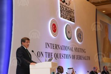 Turkey's FM calls on international community to act on behalf of Jerusalem and Palestinian people