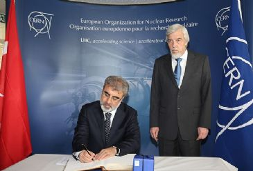 Turkey becomes associate member of CERN, the European Organization for Nuclear Research.