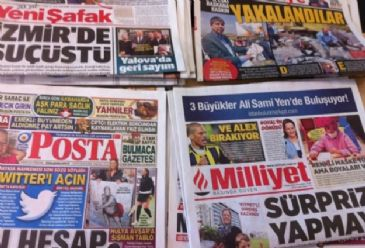 Turkish dailies focus on a government-led bill to increase punishments for domestic violence, child abuse and other sexual crimes. Newspapers also report on a European court fine for Turkey over alleged human rights violations carried out during its 1974 military operation in Cyprus