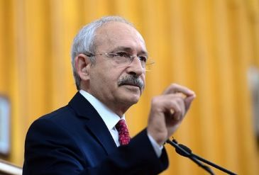 CHP's leader Kemal Kilicdaroglu said that Feyzioglu's speech was gentle