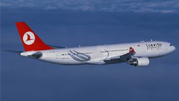 Turkey's national flag carrier sees it passenger numbers dramatically increase for the first four months of 2014