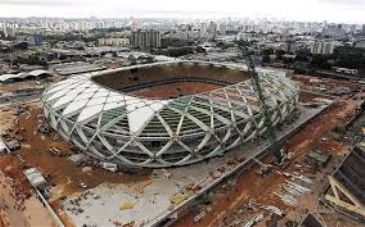With just 30 days before the World Cup kicks off in Brazil, reports say just 41% of promised projects have been completed, as strikes affect public transport in Rio and some Brazilian embassies