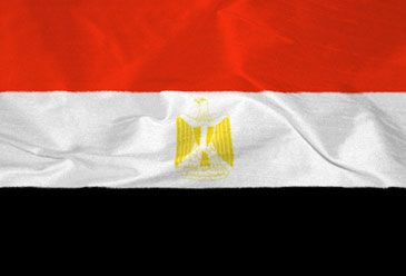 An Egyptian policeman was killed late Tuesday north of Cairo.