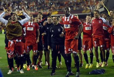 Benfica and Sevilla will meet in Turin on Wednesday, the clash at Juventus Stadium kicks off at 20:45 CET