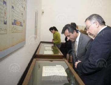 A Turkish cultural institute is holding exhibition of over two thousand manuscripts from the Ottoman Empire.