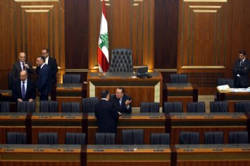 For the fourth time in a row, Lebanese MPs on Thursday failed to elect a new president to succeed Michel Suleiman