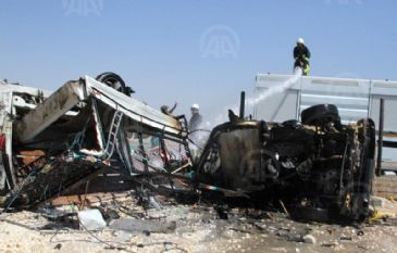 The car-bomb attack in the city of Aleppo has left 11 dead and 37 wounded.