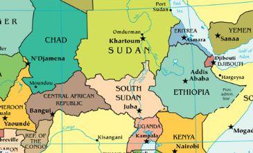 Addis Ababa To Host EgyptEthiopia Boxing Friendly - Map of egypt ethiopia