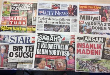Friday's newspapers focused on the human stories after Tuesday's mine blast which, so far, killed 284 people