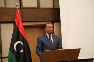 Interim Prime Minister Abdullah al-Thinni downplayed the size and scope of forces loyal to former Libyan army commander Khalifa Haftar