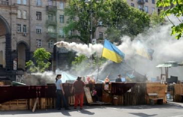 Ukraine security forces criticized in report for standing by during deadly clashes in east