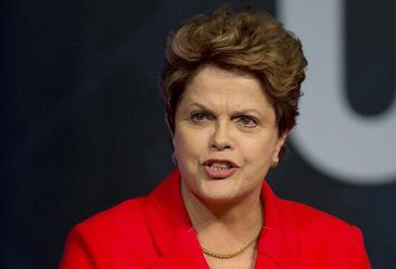 The Brazilian president tells journalists of the misplaced pressure FIFA bosses have put on her in the run-up to the World Cup.