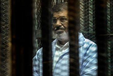 Ousted Egyptian president Mohamed Morsi seized the opportunity afforded by a Monday trial session to extend his condolences to Turkey