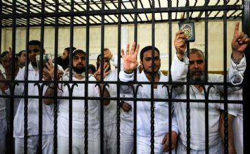 An Egyptian court on Monday upheld death penalties handed down earlier against two supporters of ousted president Mohamed Morsi who had been charged with committing murder
