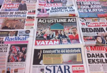 Dailies cover developments regarding the Soma mining disaster, Erdogan's remarks on the disaster, the Balkan floods, and the world's most expensive divorce