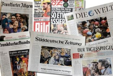 Negative media coverage of Turkish PM Erdoğan after Soma mining disaster criticized by Turks in Germany