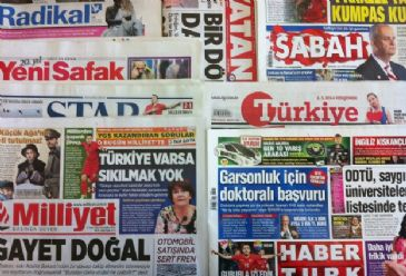 Turkish dailies on Thursday cover lack of functioning gas masks in Soma mining disaster, Turkish PM Erdogan's planned visit to Cologne, and a gas deal between Russia and China.