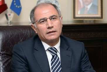 Turkish Interior Minister Efkan Ala makes his first official visit to the country after taking office, which he says
