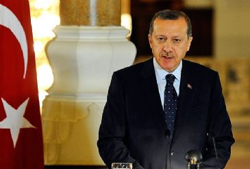 """The German government permitted an Alevi protest in Cologne just to sabotage our program,"" says Turkish PM Erdogan"