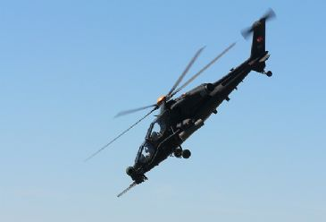 Manufactured by Turkish engineers the 'ATAK' is to be revealed at a ceremony in Ankara on Tuesday.