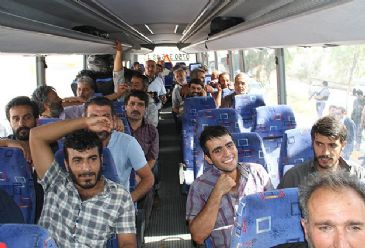 The released Turkish truck drivers will arrive in Sanliurfa on Thursday