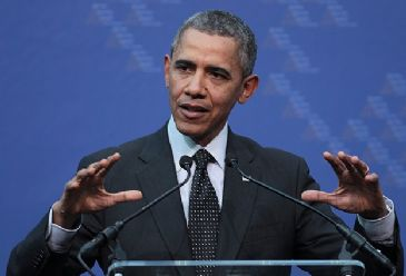 Obama says while Eid marks the completion of Ramadan, it also celebrates the common values that unite us in our humanity